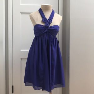 BCBG Generation Halter Style Babydoll Dress